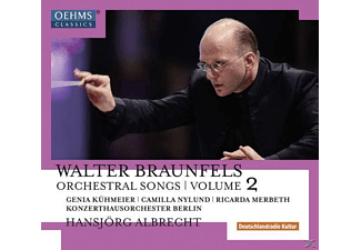 VARIOUS - Orchesterlieder Vol.2 - (CD)