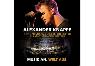 Alexander Knappe - Musik An.Welt Aus.(Live) - (CD + DVD Video)