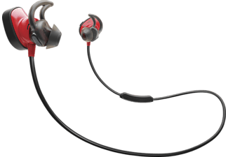 BOSE SoundSport Pulse Wireless, In-ear Kopfhörer, Near Field Communication, Bluetooth, Rot