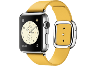 APPLE Watch 38mm - Steel med modernt spänne - Marigold M