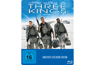 Three Kings (Exklusive Steelbook Edition) [Blu-ray]