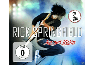Rick Springfield - Live And Kickin - (CD + DVD Video)