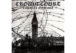 Crown Court - Capital Offense (Blood Red) - (Vinyl)