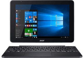 ACER One 10 (S1003-13ZD), Convertible mit 10.1 Zoll, 128 GB Speicher, 4 GB RAM, Atom® Prozessor, Windows® 10 Home (32 Bit), Anthrazit
