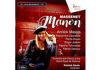 Massis/Liberatore - Manon - (CD)