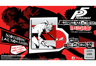 Persona 5 - Limited SteelBook D1-Edition [PlayStation 4]