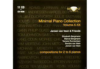 Sandra & Jeroen Van Veen With Friends - Minimal Piano Collection - (CD)