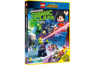Lego Justice League Cosmic Clash Animation / Tecknat DVD