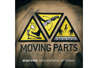 Benny Greb, Chris Montague, Kit Downes - Moving Parts-Live - (CD)