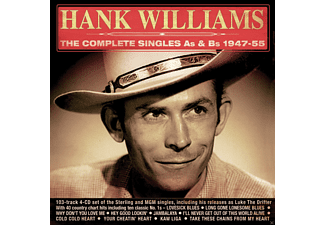 Hank Williams - The Complete Singles As & Bs 1947-55 - (CD)