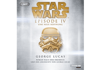 George Lucas - Star Wars Episode IV - Eine neue Hoffnung [Science Fiction, MP3-CD]