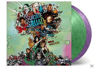 VARIOUS, O.S.T. - Suicide Squad (Steven Price) (180g) (Limited Edition) (Green & Purple Marbled Vinyl) - (LP + Download)