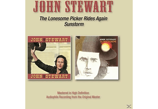 John Stewart - Lonesome Picker Rides Again/Sunstorm - (CD)