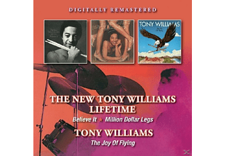 Tony Williams - Believe It/Million Dollar Legs/Joy Of Flying [CD]