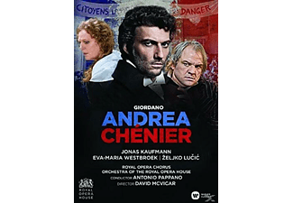 Jonas Kaufmann, Eva-Maria Westbroek, Zeljko Lucic, Orchestra Of The Royal Opera House, Royal Opera Chorus - Andrea Chenier (Royal Opera House) - (DVD)