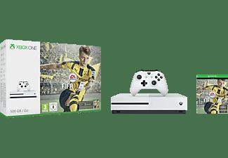 Microsoft S 500 GB +Controller+ FIFA 17 standaard editie