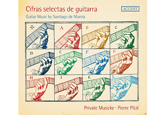 Private Musicke - Cifras Selectas de Guitarra - (CD)