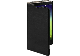 HAMA Slim Bookcover, LG, Stylus 2 (DAB+), High-Tech-PU, Schwarz