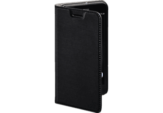 Slim Bookcover Huawei GR3/P8 Lite Smart High-Tech-PU Schwarz