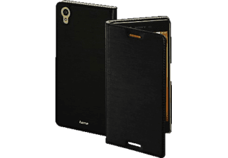 HAMA Slim Bookcover$, Sony, Xperia X, High-Tech-PU, Schwarz
