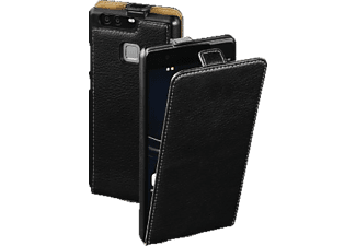Smart Case Flip Cover Huawei P9 Plus Leder Schwarz