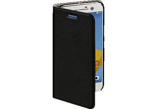 Slim Bookcover HTC 10 High-Tech-PU Schwarz
