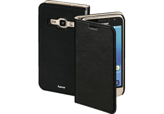 HAMA Slim, Backcover, Galaxy J1 (2016), High-Tech-Polyurethan (PU), Schwarz