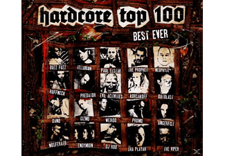 VARIOUS - Hardcore Top 100-Best Ever - (CD)