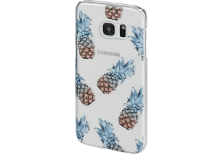 HAMA Ananas Limited Edition, Backcover, Galaxy S7, Kunststoff, Transparent