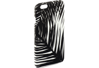 HAMA Bambus-Blätter Limited Edition, Backcover, iPhone 6, iPhone 6s, Kunststoff, Schwarz