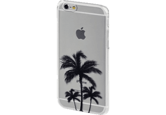 HAMA Palmen Limited Edition, Backcover, Apple, iPhone 6, iPhone 6s, Kunststoff, Transparent