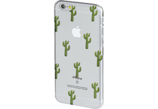 HAMA Kaktus Limited Edition, Backcover, Apple, iPhone 6, iPhone 6s, Kunststoff, Transparent