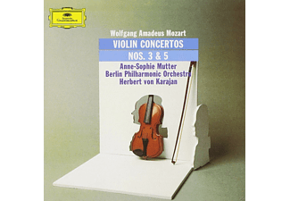 Anne-sophie/berliner Philhar Mutter - Violinkonzerte 3+5 (LP) [Vinyl]