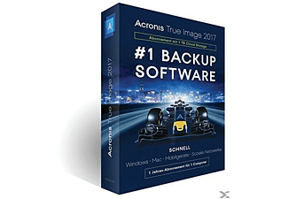 Acronis True Image 2017 - 1 TB Cloud (1 Computer)