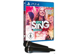 Let's Sing 2017 Inkl. Deutschen Hits + 2 Mikros - PlayStation 4