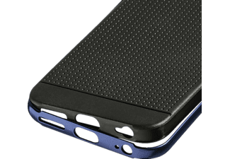 HAMA Planet Backcover Apple iPhone 6, iPhone 6s Aluminium/Kunststoff Anthrazit/Blau