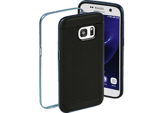 Planet Backcover Samsung Galaxy S7 Kunststoff Anthrazit/Blau