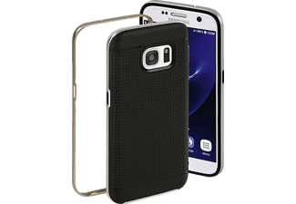 HAMA Planet, Backcover, Samsung, Galaxy S7, Kunststoff, Silber/Bronze