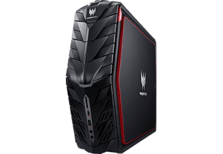 ACER Predator G1-710, Gaming PC mit Core ™ i7 Prozessor, 16 GB RAM, 3 TB HDD, 256 GB SSD, GeForce GTX 1080
