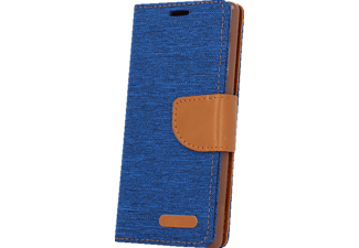 AGM 26405 Bookcover Apple iPhone 5, iPhone 5s, iPhone SE Stoff (Obermaterial) blau