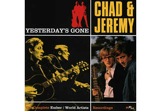 Chad & Jeremy - Yesterday's Gone-Compl.Ember/World Artists Rec. - (CD)