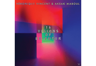 Veronique Vincent & Aksak Maboul - 16 VISIONS OF EX-FUTUR (COVERS & REWORKS) - (CD)