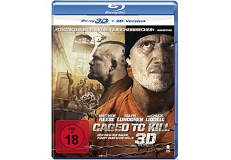 Caged To Kill [3D BD&2D BD, Blu-ray]