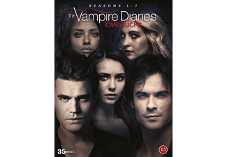 The Vampire Diaries Säsong 1-7 Drama DVD