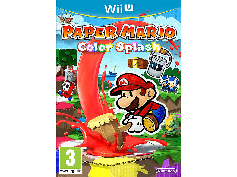 Paper Mario: Color Splash Nintendo Wii U gaming   offline nintendo wiiu παιχνίδια wii u