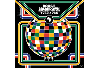 VARIOUS - Boogie Breakdown-South African Synth Disco 80-84 - (CD)