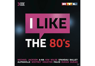 VARIOUS - RTL I LIKE THE 80S - (CD)