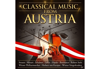 Diverse Interpreten - Classical Music From Austria - (CD)