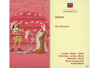 London/Weber/Zadek/Simoneau/Jurinac/Berry/Moralt/+ - Don Giovanni - (CD)