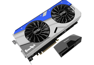 PALIT GeForce GTX 1080 GameRock 8GB + G-Panel (NEB1080T15P2GP), NVIDIA, Grafikkarte